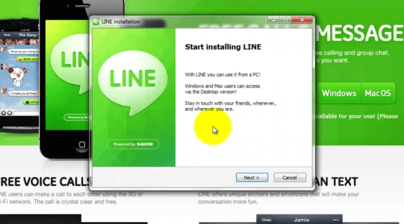 LINE for PC Free Download (Windows 7/8/XP Computer)