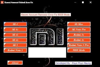 Download Mi Account Unlock Tool – Reset/Remove Mi Password