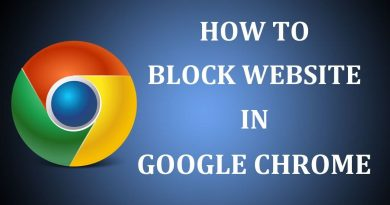 Block Websites on Google Chrome