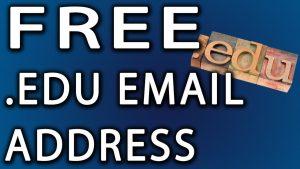 .EDU Email Address