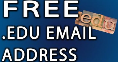 .EDU Email Address