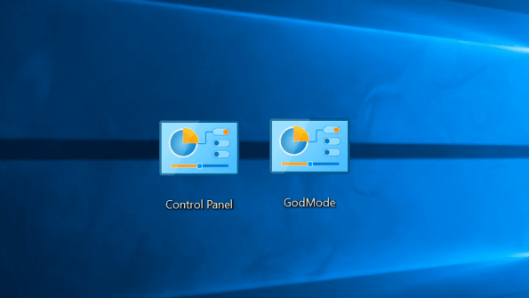 God Mode in Windows 10